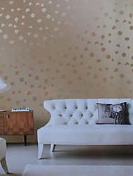 Wall Paper Wallcovering, European Style Romantic Bubble PVC Wall Paper
