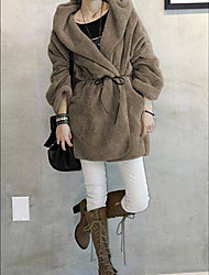 Maternity Plush Thickness Coat