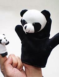 Lovely Panda Plush Panda Hand Puppets Kids Glove  Play Toy