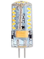 3W G4 Ampoules Maïs LED LED à Double Broches T 57 SMD 3014 250 lm Blanc Chaud DC 12 AC 12 AC 24 DC 24 V
