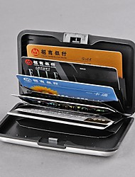 Deluxe Aluminium Plastic Wallet Credit Bank ID Business Card Holder Protect Case