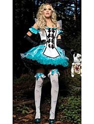 o dia das bruxas partido cosplay uniforme das mulheres loucas
