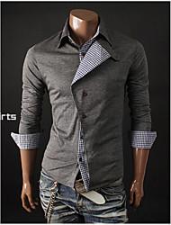 Hisen Men's Casual All Match Shirt