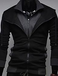 bikelun cardigan hoodie causal de moda (negro)