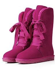 Women's High Quality Fashion Joker Pure Color Anti-Skid Warm Snow Boots