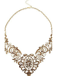 Canlyn Women's Vintage-Inspired Hollow Out Necklace
