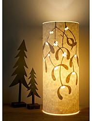 lámpara de pie 1 luz patrón de la hoja de pergamino 220v pantalla retro