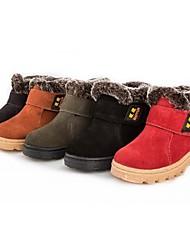 Botas ( Negro/Marrón/Verde/Rojo/Caqui ) - Botas de nieve - Ante