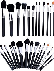 15 Makeup Brushes Set Goat Hair / Synthetic Hair / Pony / Horse Face / Lip / Eye Others