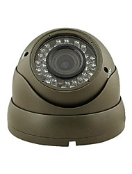 36-IR LED Zoom Indoor Dome CCTV Surveillance Color Security Camera 2.8-12mm-Lens YS-862D