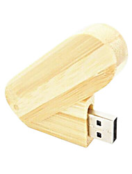 XZ8 8GB Holz Stil 360-Grad-Drehung Portable USB 2.0 Flash Drive