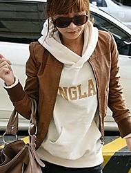 estilo coreano lazer colar das mulheres usa casaco de roupas