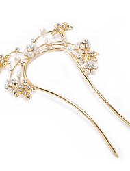 Gorgeous Rhinestones/Imitation Pearls Wedding Bridal Combs/ Pins