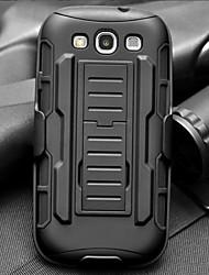 sangle de serrage baisse armure de résistance gaine de protection avec support et clip pour les i9300 Samsung Galaxy S