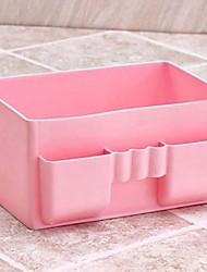 1 couleurs de pièces à grande surface cosmétique de stockage contenant de plastique