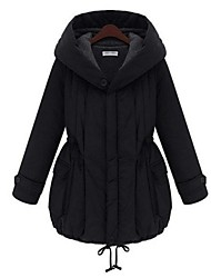 moederschap mode gecontracteerd dikke warme lange jas