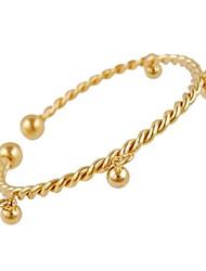 Women's Aestheticism Fashion Cute Design Golden Bell Bangle