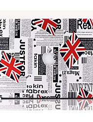 Hot Selling Union Jack Leather Protact Case for 13.3 Macbook Air