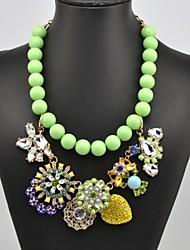 Women's Flower Pattern Cute Necklace