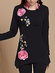 Women's Folk Style Long Sleeve Shirts