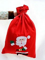 tissu de haute qualité non-tissé sacs de cadeau de Noël de bonbons (petite taille, 40 * 30cm, modèle aléatoire)