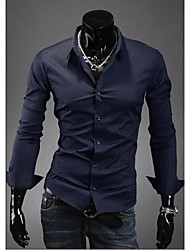 Wshgyy Men's Casual Slim Fit Shirt