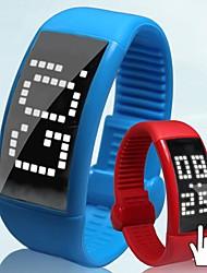 Men's Watch Pedometer LED Touch Screen USB Digital Smart Watch