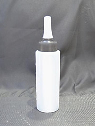 White Plastic Squeeze Bottle (Small)