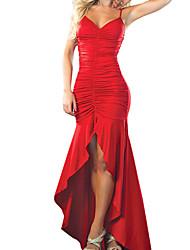 VERYM Women's Strap V-Neck Backless Sexy Dresses