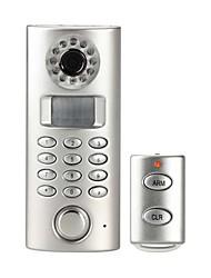 auto-dial alarme à la maison de la caméra pstn bricolage avec la télécommande