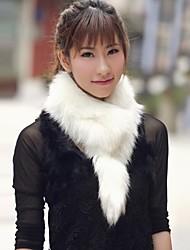 Women Faux Fur Shawl & Wrap