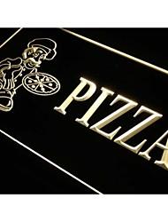 M055 pizzería signo luz de neón