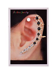 Earring Flower Ear Cuffs Jewelry Women Party / Daily / Casual Alloy