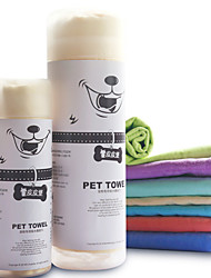 Super Absorbent Deerskin Pet Towels for Pets Dogs Large Size Ressorted Color