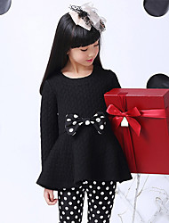 Honey Doll Sweet Bowknot Long Sleeve Top