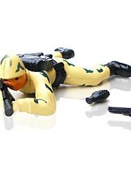 juguetes de cuerda acción batalla fuego soldado (color al azar)
