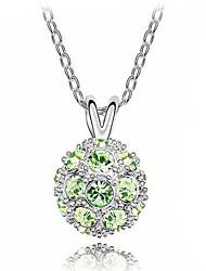 collar de cristal austriaco de Sophie mujeres