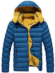 Men's Hooded Cotton-Padded Clothes Coat