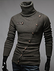 BIKELUN Korean Slim Turtle Neck Knitwear