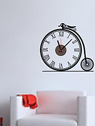 zooyoo® старинные стиль Электронная батарея курантами и хронометрист форма декора дома стикера стены для вас комнатной