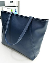Women PU Formal / Casual Tote Blue / Red / Black