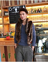 Men's Thickened Slim Fur Coat