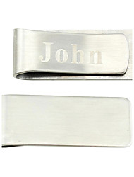 Groom Groomsman Stainless Steel Money Clips Wedding