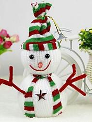 Новогодние украшения повесить украшений снеговика (набор из 2)