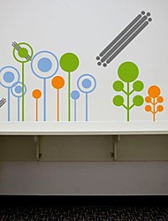 Wall Stickers Wall Decals,  Modern The circle of grass PVC Wall Stickers