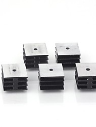 zndiy-Бри KBPC алюминиевый радиатор база (5 шт)