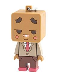 Mr Box NIL® Cartoon Flash Drive USB 2.0 Flash Drive 8GB Gold-collar Design