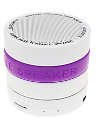 Hi-Fi S09 MP3 Functie Mini Bluetooth Speaker met TF-poort voor telefoon / laptop / Tablet PC (assorti kleur)