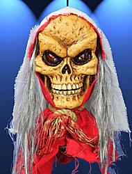 decorativo pirata cappuccio fantasma 2 luci terrore ha portato in resina pittura e biancheria