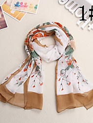 Ludy Women's Western Fashion Imitation Silk Scarf